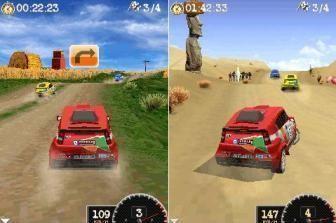 Гонки Дакар 2009 для Symbian 176x220