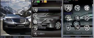 Тема Honda Legend для Nokia