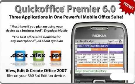 Мобильный офис для Symbian 9.x